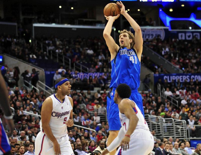 Dirk Nowitzki Basketball Dirk Nowitzki Dallas Mavericks