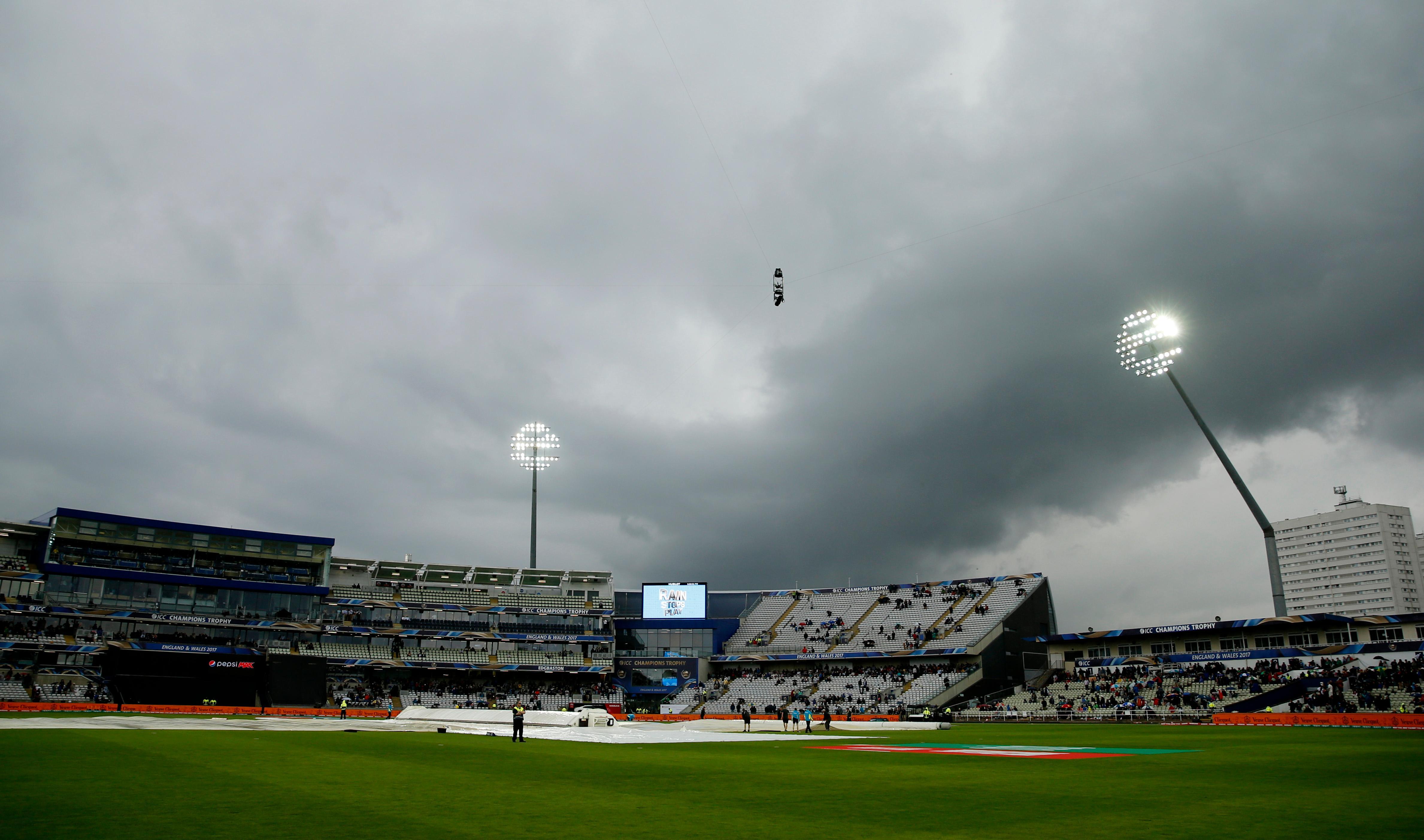 Edgbaston Rain ruins Aus-NZ match Edgbaston, Cricket
