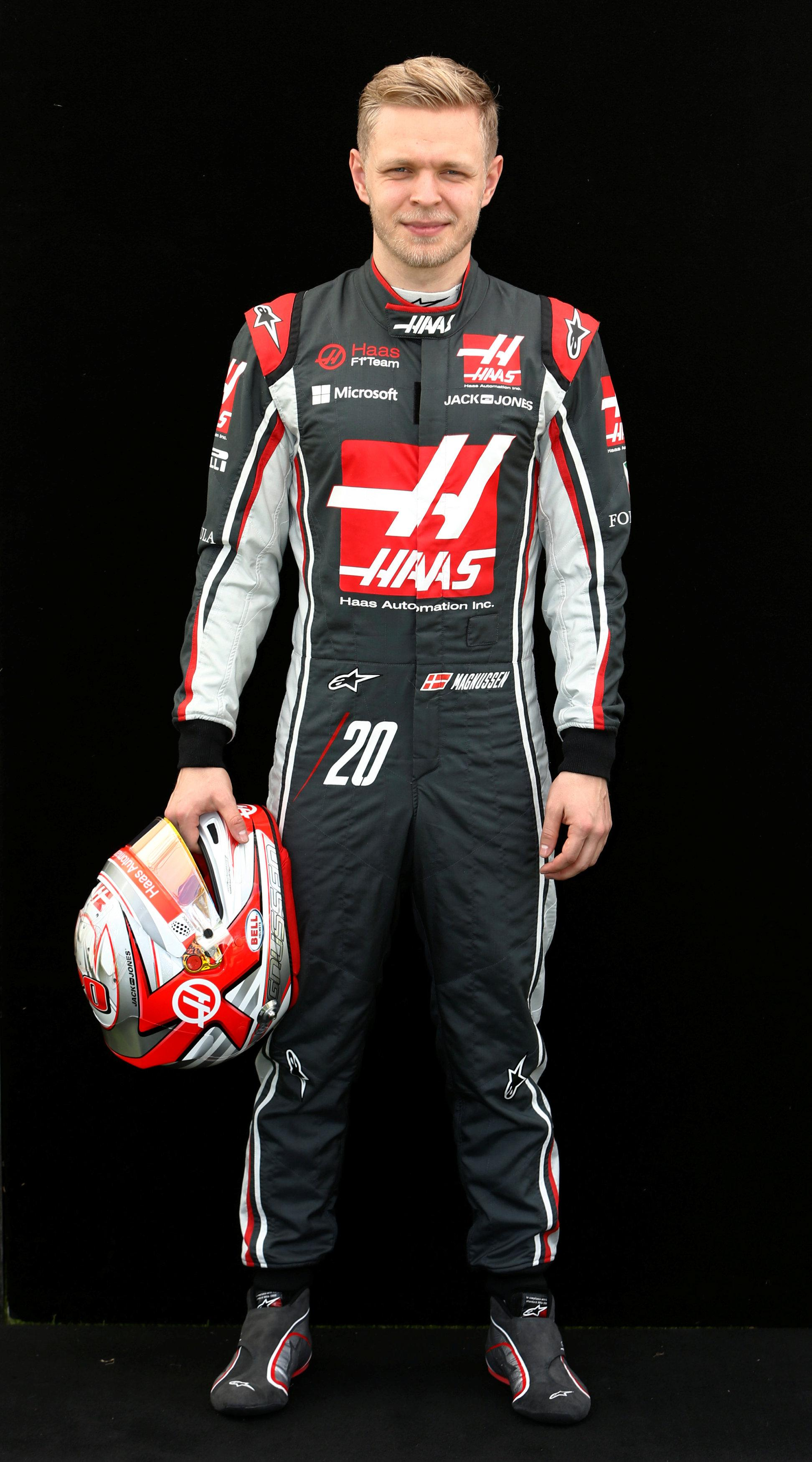 Kevin Magnussen Magnussen enjoying life at Haas Kevin Magnussen, Haas