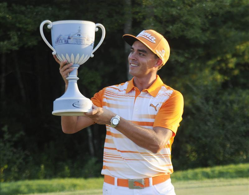 Rickie Fowler Fowler wins at TPC Boston Rickie Fowler, Deutsche Bank Championship, Golf