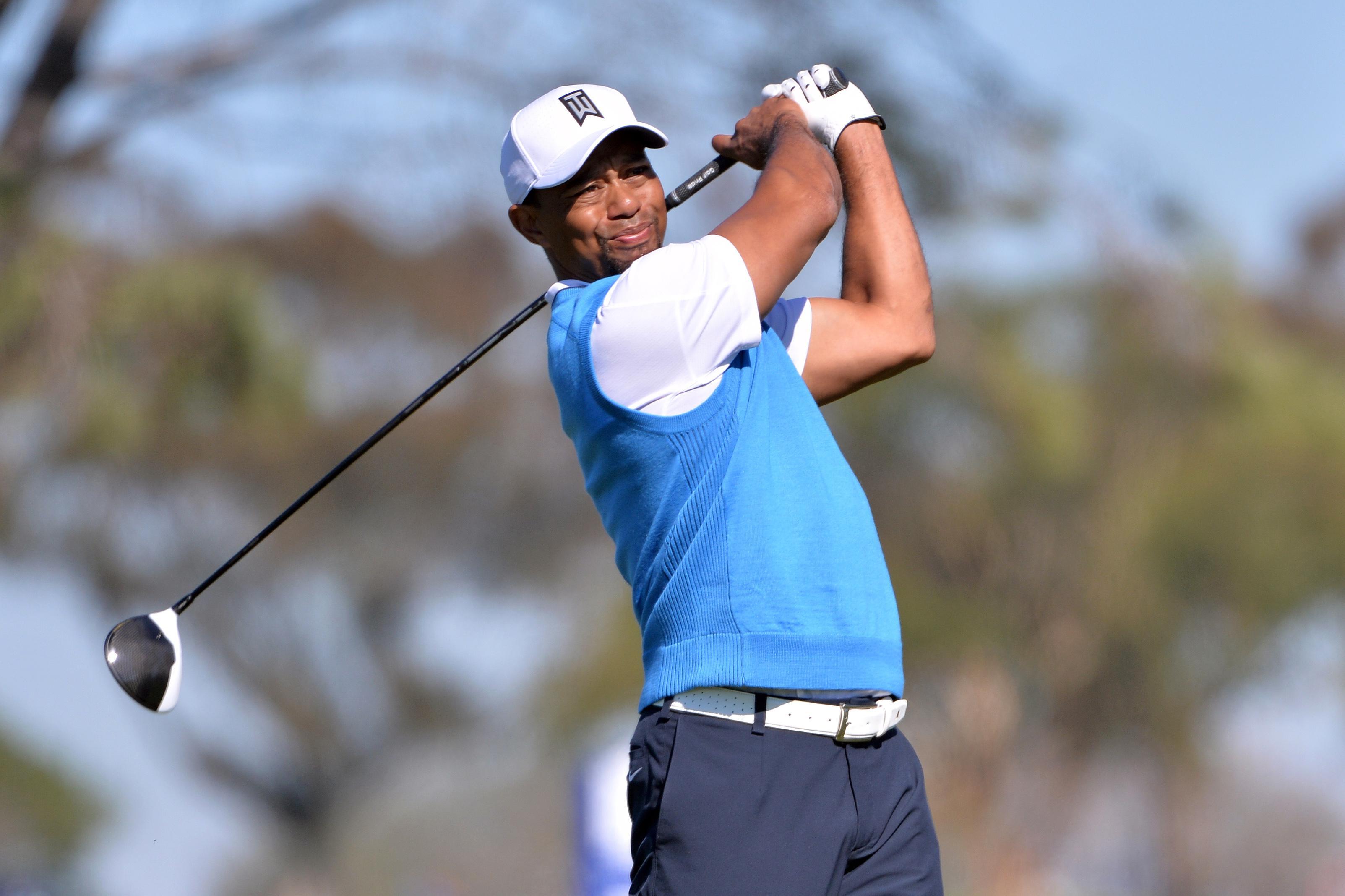 Tiger Woods Woods upbeat despite missed cut Tiger Woods, Golf
