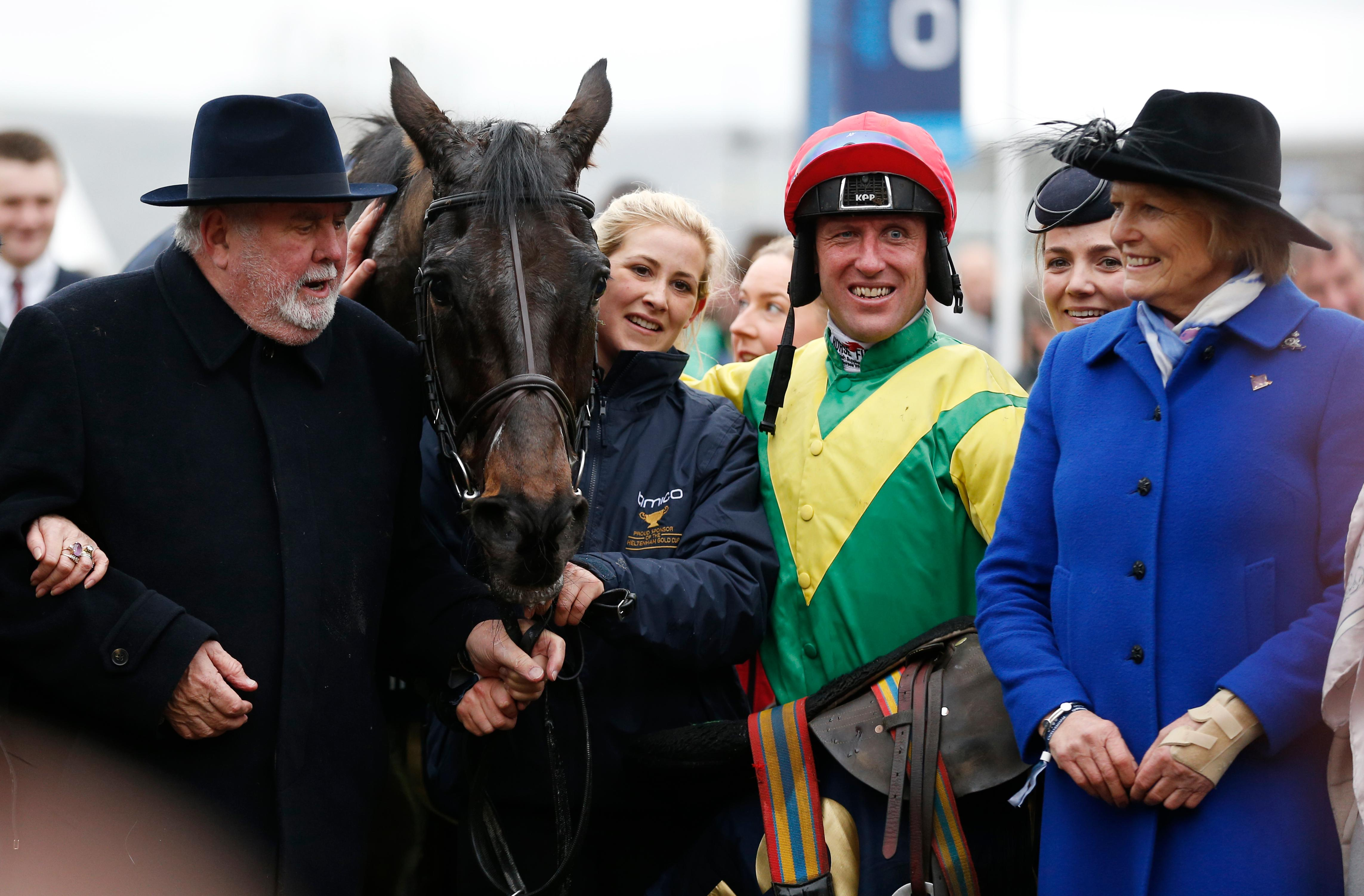 Robbie Power  Robbie Power, Sizing John, Gold Cup, Cheltenham