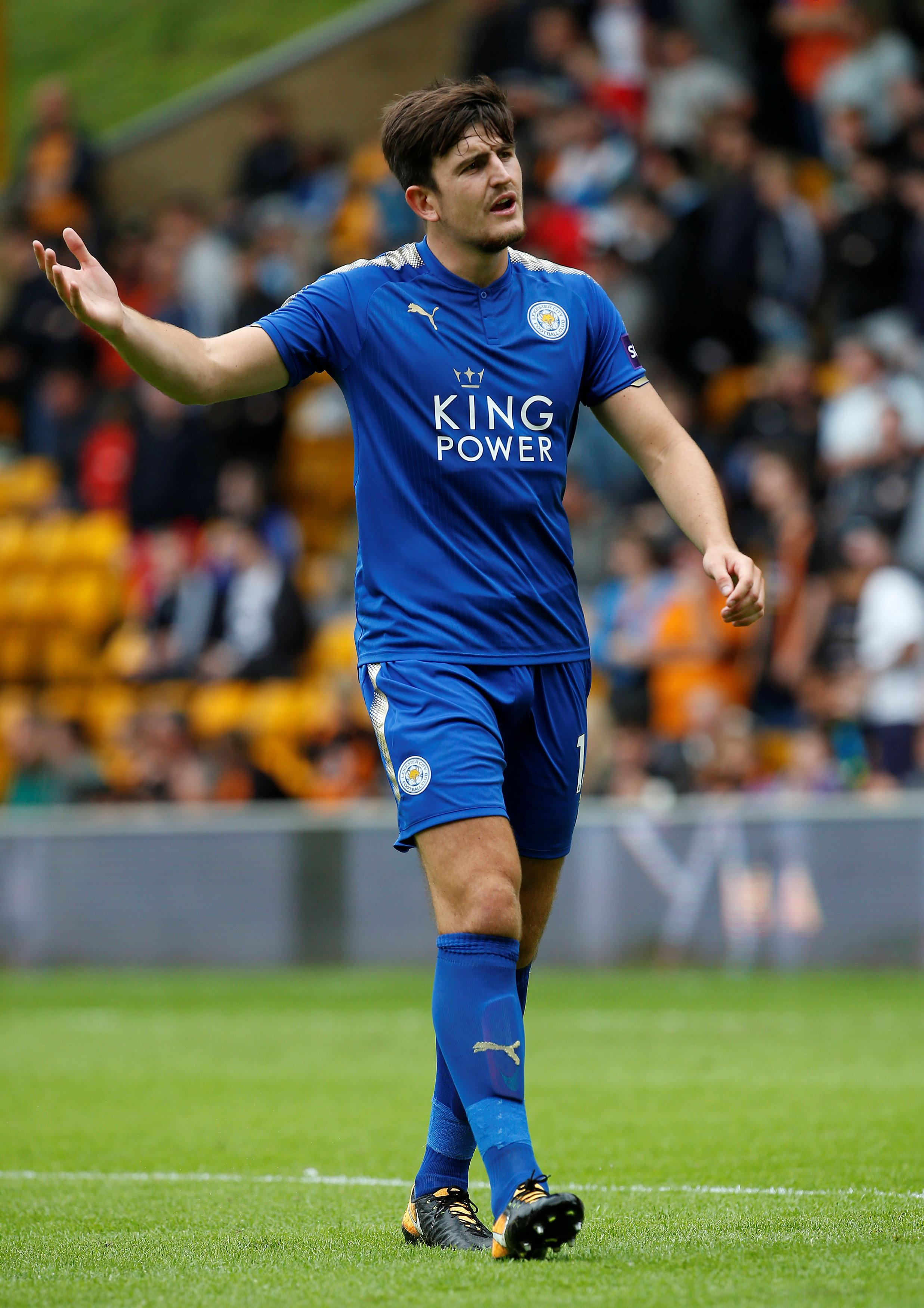 Harry Maguire Maguire reveals England ambition Harry Maguire, Leicester