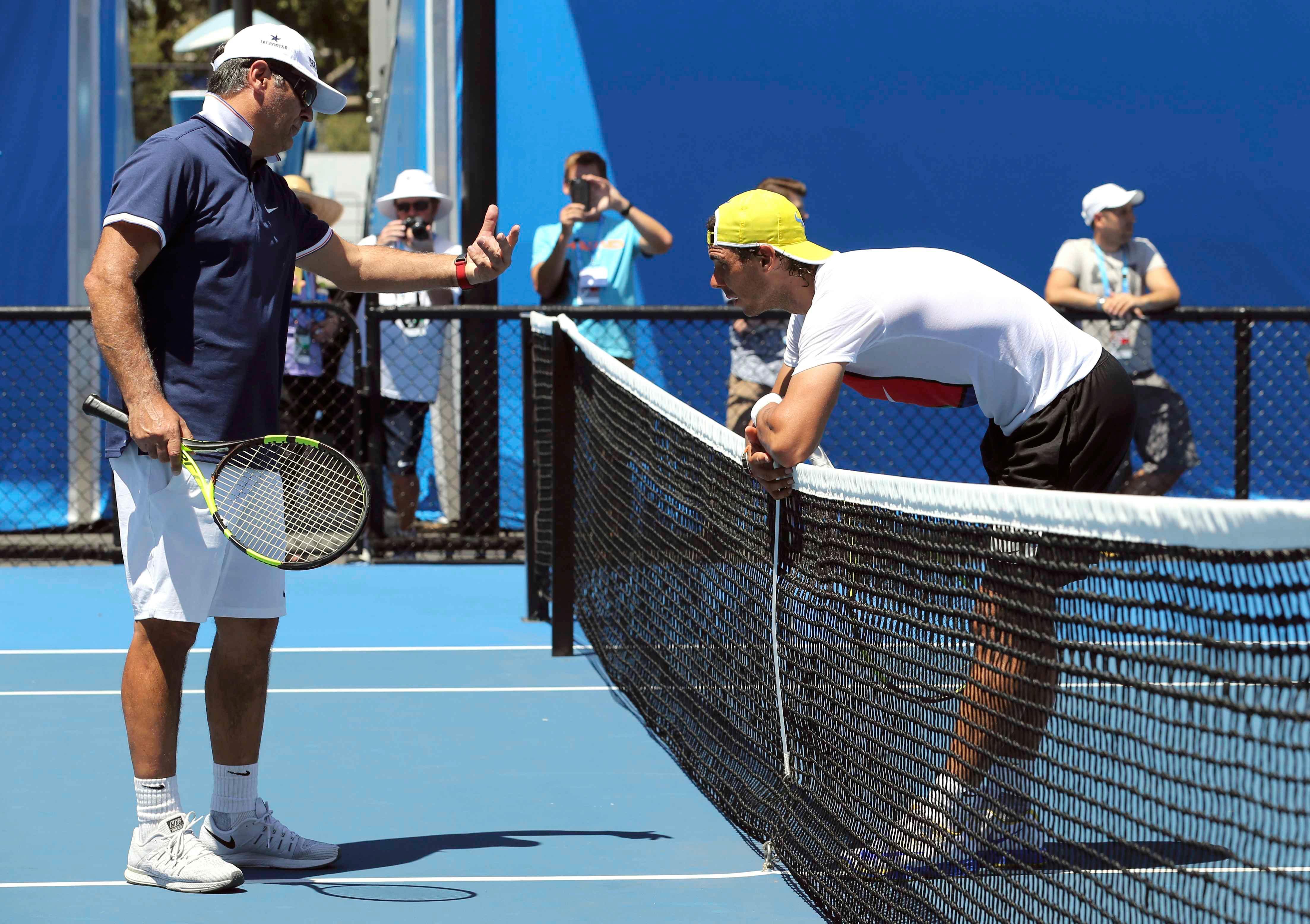 Rafael Nadal Toni Nadal Tennis Rafael Nadal Toni Nadal