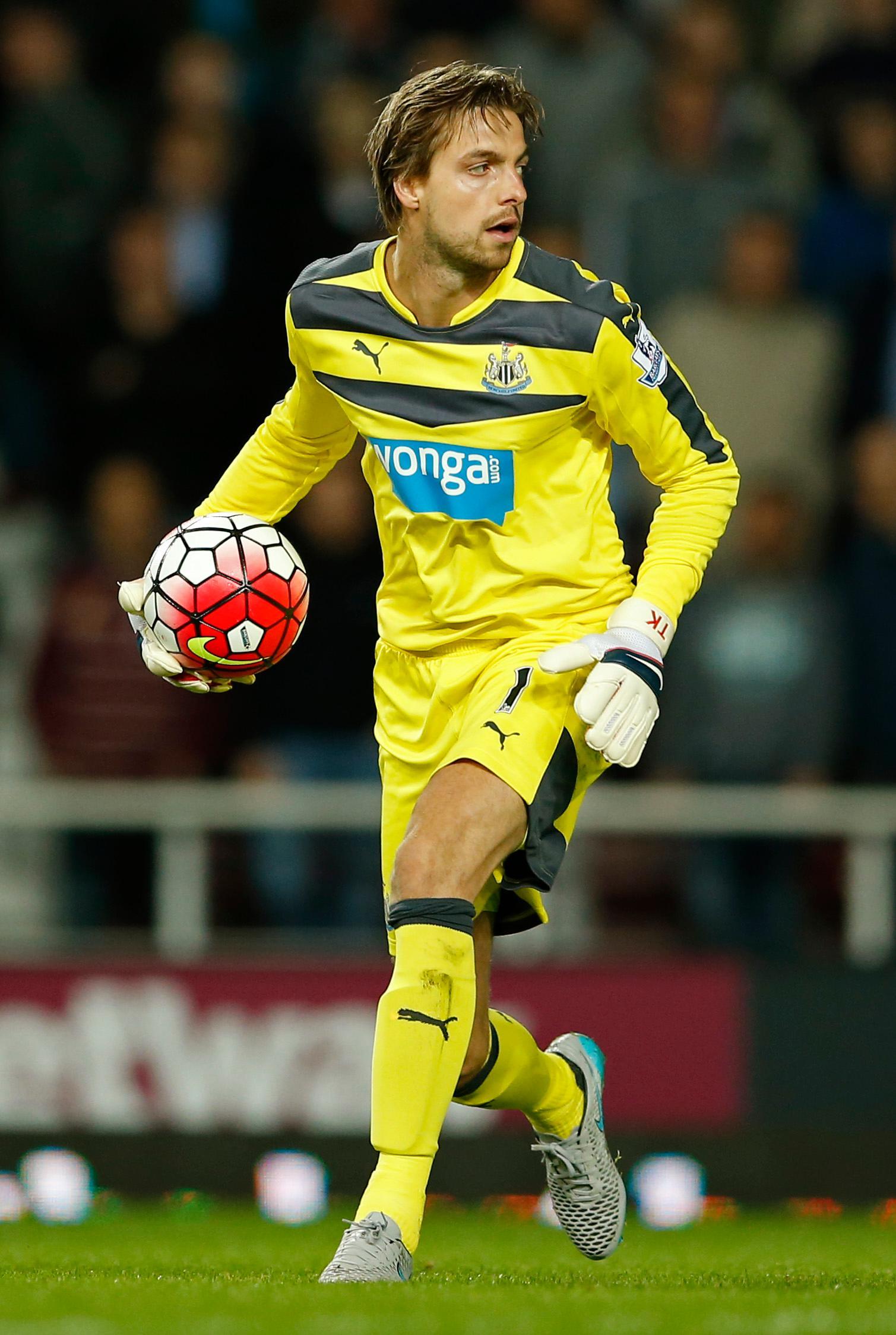 Tim Krul Newcastle United Tim Krul